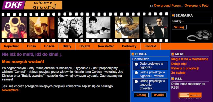 """Wspomnienia powracają, czyli krótka historia mojej pierwszej """"prawdziwej"""" strony WWW"""